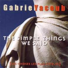 The simple things we said - GILDAS ARZEL
