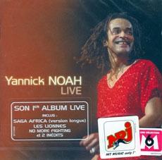Yannick Noah Live - GILDAS ARZEL